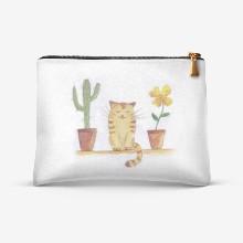 Kot i kaktus