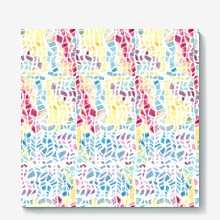 Watercolor hand drawn abstract art seamless pattern background