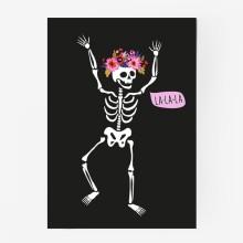 Skeleton la la la 01