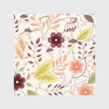Autumn pattern vintage