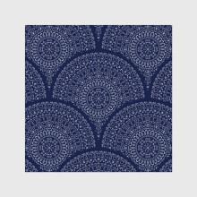 Seamless pattern with mandalas 4