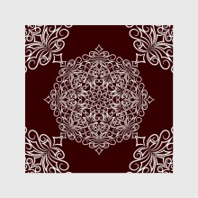 Seamless pattern with abstract elements 2