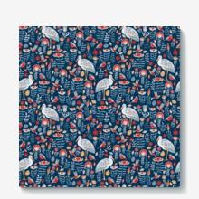 Birds stork flower 01 01