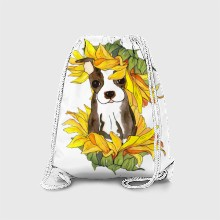 Sunflower puppy