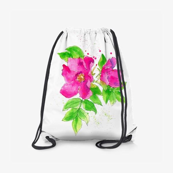 Рюкзак «Неоновый розовый шиповник»