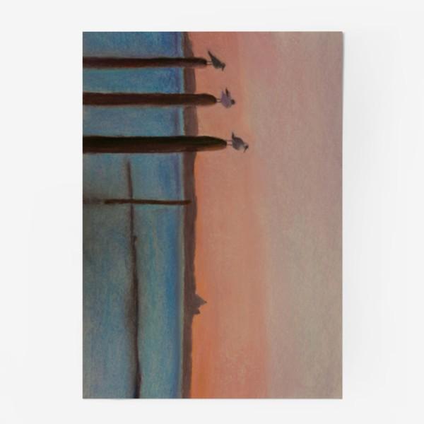 Постер «Венеция. Чайки»