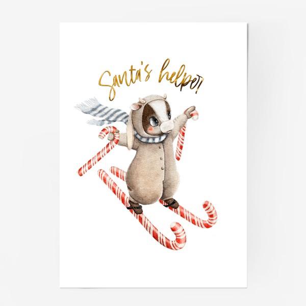 Постер «Santa's helper»