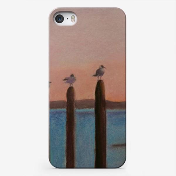 Чехол iPhone «Венеция. Чайки»