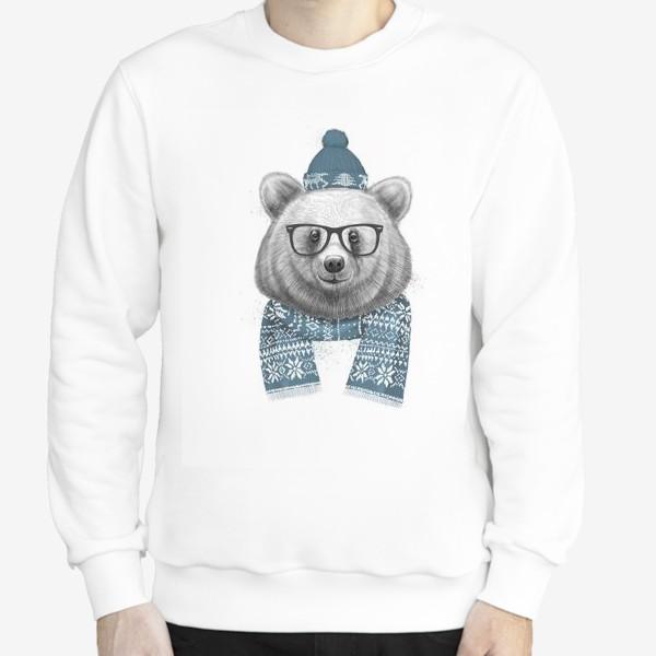 Свитшот «Зимний медведь»