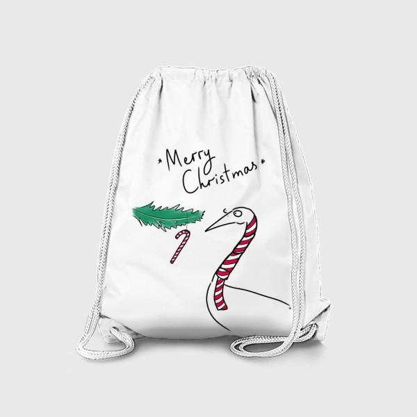 Рюкзак «Merry Christmas! С рождеством и новым годом »