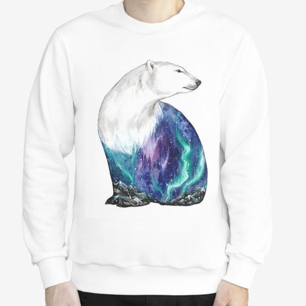 Свитшот «Дыхание природы. Белый медведь»