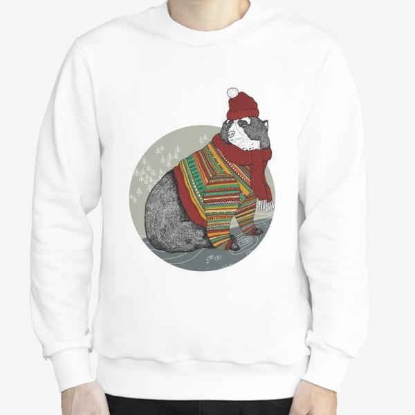 Свитшот «Рождественский мишка #2»