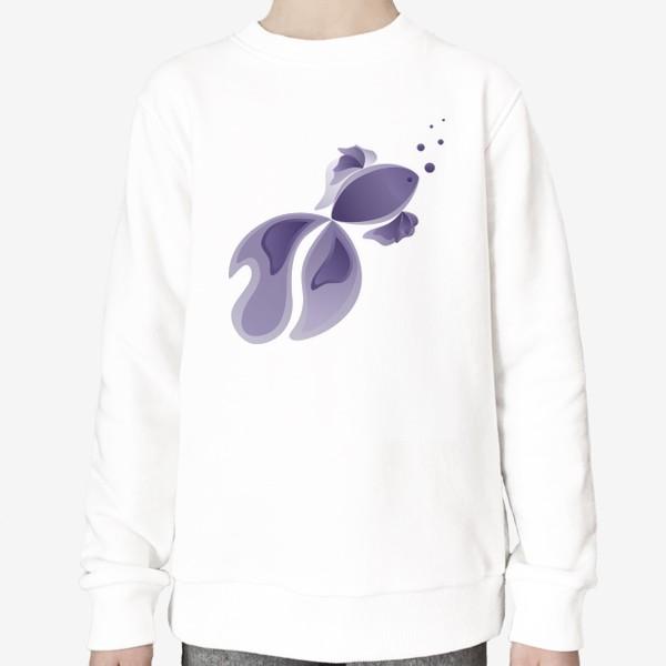 Свитшот «Lavender Fish»