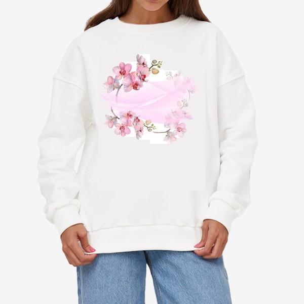 Свитшот «Орхидеи»