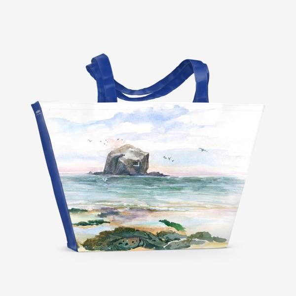 Пляжная сумка « Птичья Скала. Норд Бервик»