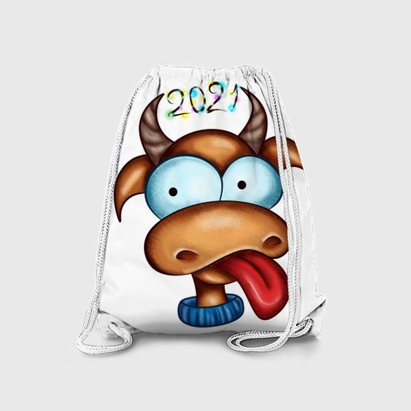 Рюкзак «Веселый Бык 2021»