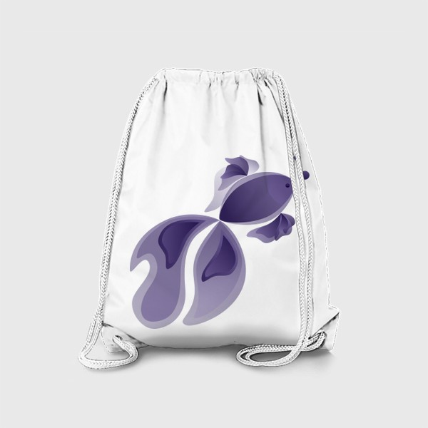Рюкзак «Lavender Fish»