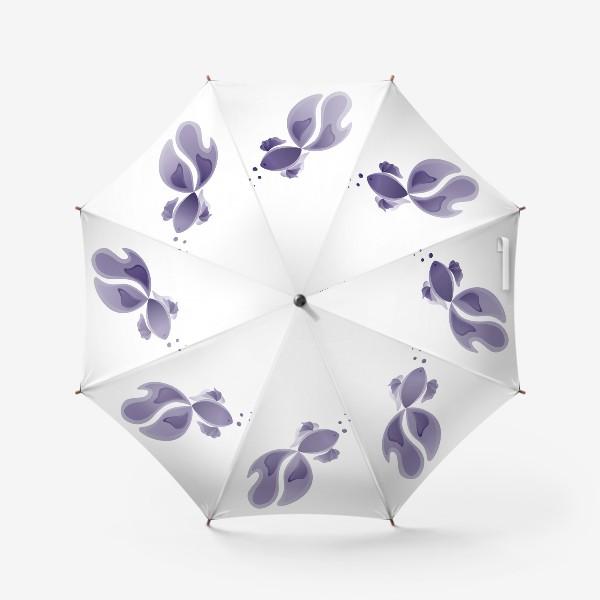 Зонт «Lavender Fish»