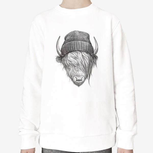 Свитшот «Шотландский бык»