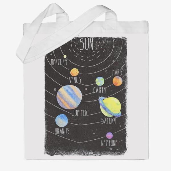 Сумка хб «sun system»