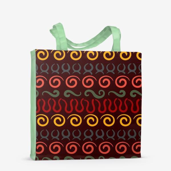 Сумка-шоппер «Этнический Африканский рисунок»