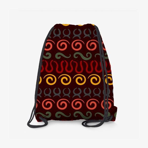 Рюкзак «Этнический Африканский рисунок»