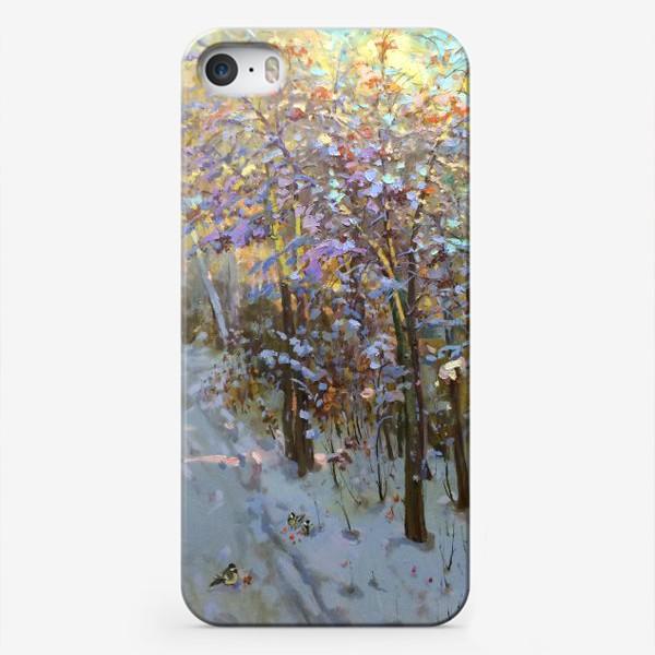 Чехол iPhone «Тонкие рябинки»