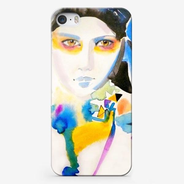 Чехол iPhone «Разноцветная»