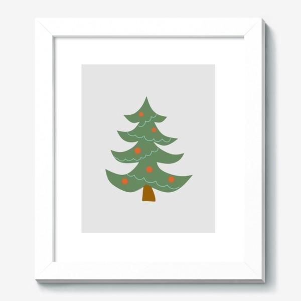 Картина «Новогодняя елка»