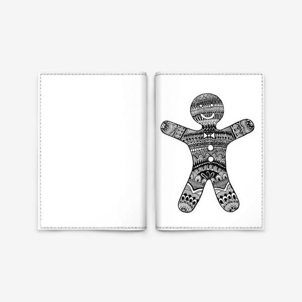 Обложка для паспорта «Cookie boy»
