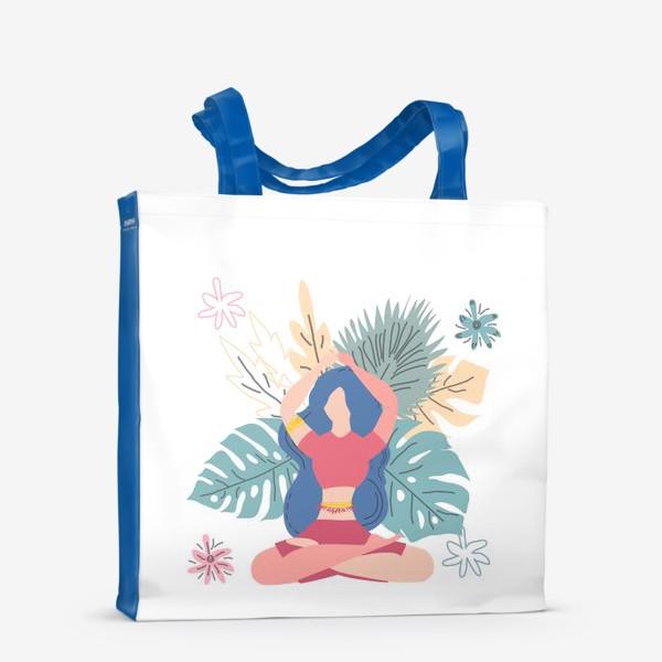 Сумка-шоппер «Медитация, йога, покой и равновесие»