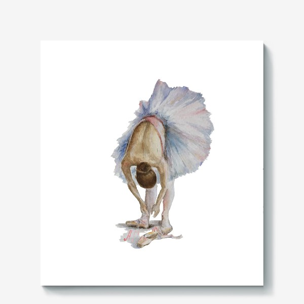 Холст «Танцуй. Балерина в пачке »
