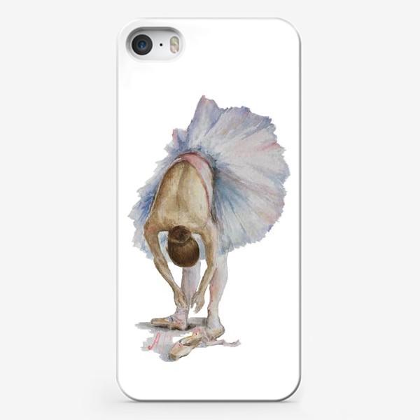 Чехол iPhone «Танцуй. Балерина в пачке »