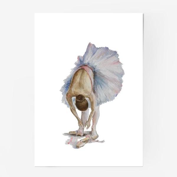 Постер «Танцуй. Балерина в пачке »