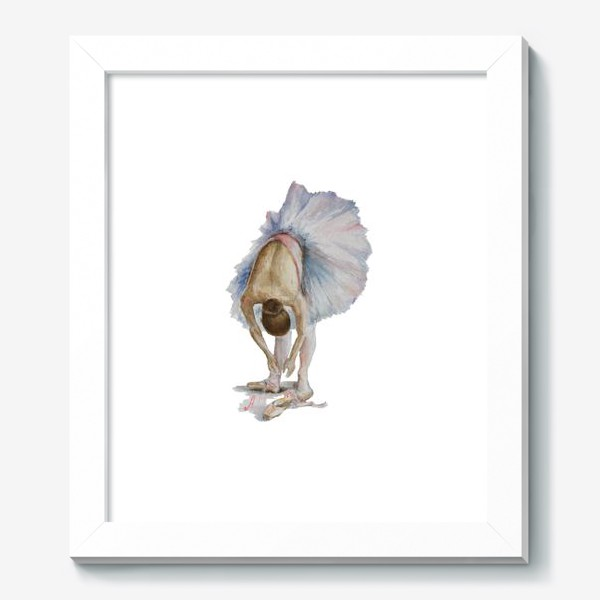 Картина «Танцуй. Балерина в пачке »