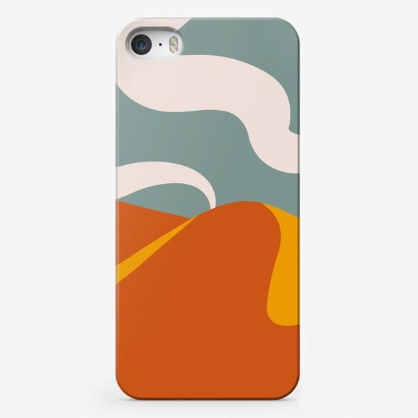 Чехол iPhone «Абстрактная пустыня»