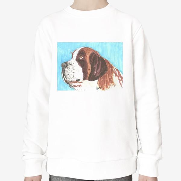 Свитшот «Грустный пес»