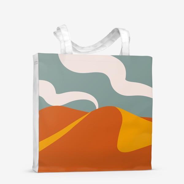 Сумка-шоппер «Абстрактная пустыня»