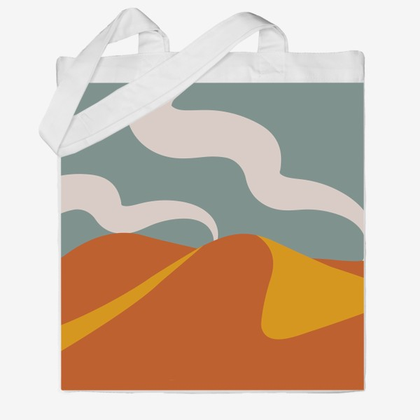 Сумка хб «Абстрактная пустыня»