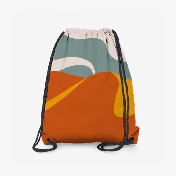 Рюкзак «Абстрактная пустыня»