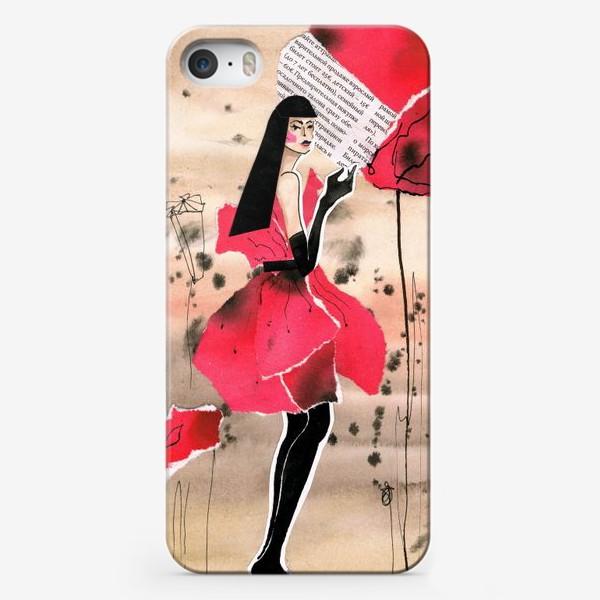 Чехол iPhone «Маковая дама»