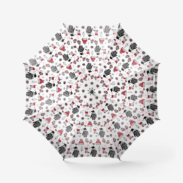 Зонт «Рождество и Новый год»