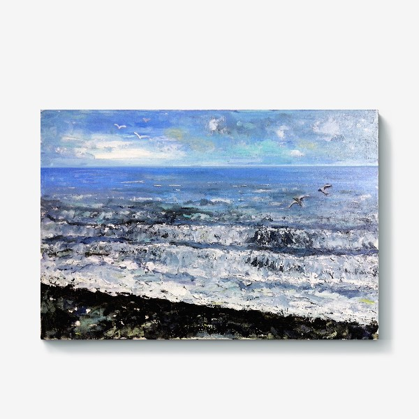 Холст «море, море»