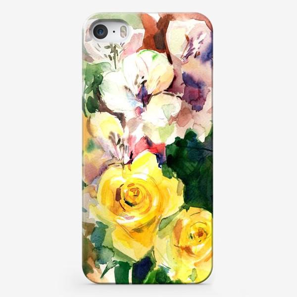 Чехол iPhone «Flowers»