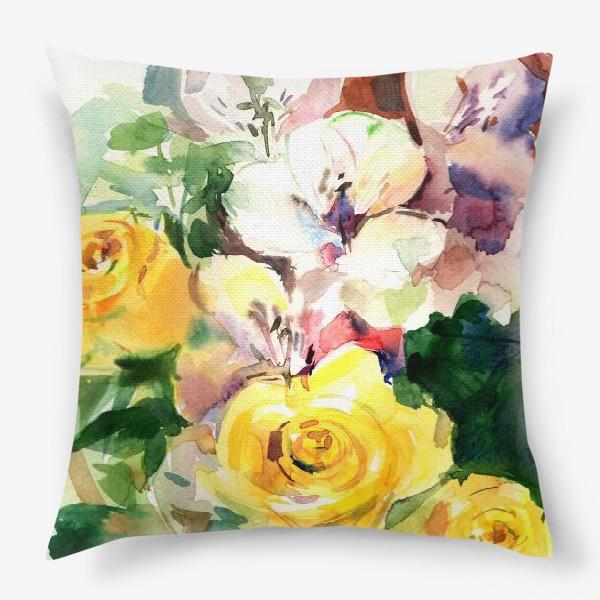 Подушка «Flowers»
