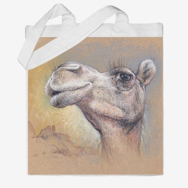 Сумка хб «Верблюд, подарок с юмором»