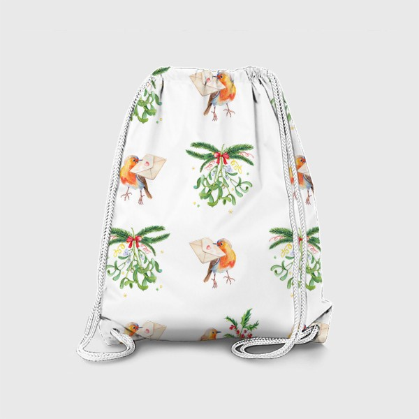 Рюкзак «Зарянка с письмом о любви»