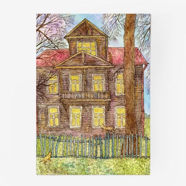 Постер «Осенний дом»