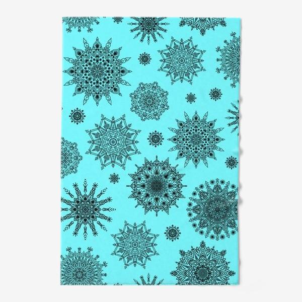 Полотенце «Blue Oriental Pattern»