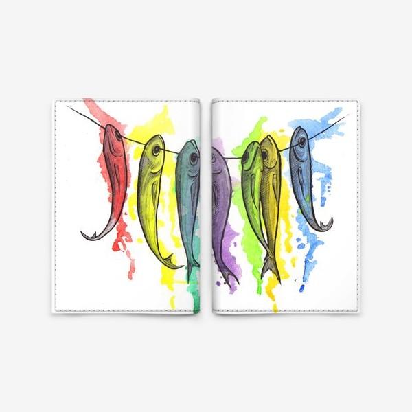 Обложка для паспорта «Рыбы»